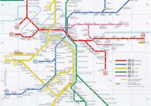 Map Of Ferry Ports In France Paris Rer Stations Map Bonjourlafrance Helpful Planning