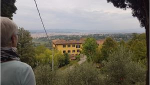 Map Of Fiesole Italy Bencista with Florence In the Background Picture Of Pensione