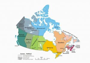 Map Of First Nations In Canada Canadian Provinces and the Confederation