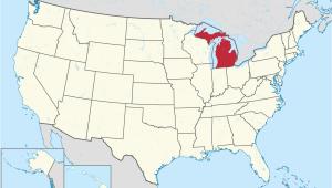 Map Of Flint Michigan Michigan Wikipedia