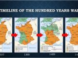 Map Of France and England England France Fought the Hundred Years War