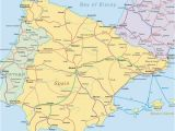 Map Of France and Spain Border Map Of Spain France and Italy Map Of France Spain and Portugal