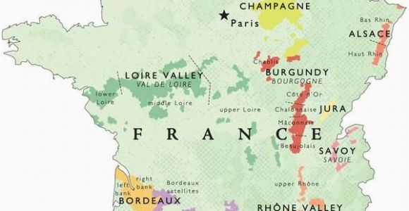 Map Of France Bordeaux Region Wine Map Of France In 2019 Places France Map Wine