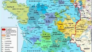 Map Of France Burgundy Burgundian Territories Scotland France Map Map