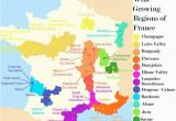 Map Of France Burgundy French Wine Growing Regions and An Outline Of the Wines