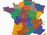 Map Of France In French A Map Of French Cheeses Wine In 2019 French Cheese France Map