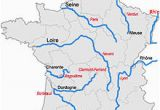 Map Of France Mountains and Rivers List Of Rivers Of France Wikipedia