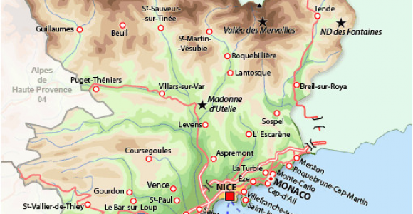 Map Of France Provence Region southern France Map France France Map France Travel