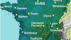 Map Of France Rivers and Mountains Map Of the Rivers In France About France Com