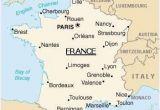 Map Of France Showing Limoges Map Of France Paris France Map Metz France France Travel