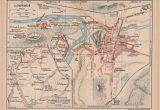 Map Of France Showing Lourdes 1921 Lourdes France Antique Map