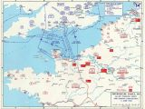 Map Of France Showing normandy Map Map Noting Allied and German Dispositions In southern