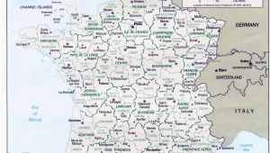 Map Of France Showing Paris Map Of France Departments Regions Cities France Map