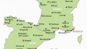 Map Of France Spain Italy Map Of France and Spain Map Of Spain and France with Cities May