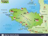 Map Of France St Malo Map Of Brest France Stockfotos Map Of Brest France Bilder Alamy