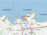 Map Of France St Malo Saint Malo Map Detailed Maps for the City Of Saint Malo Viamichelin