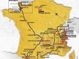 Map Of France tours tour De France 2016 Die Strecke
