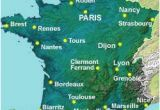 Map Of France with Rivers and Mountains Map Of the Rivers In France About France Com