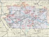 Map Of Fremont Ohio Fremont County Colorado Map Secretmuseum