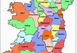 Map Of Galway County Ireland Map Of Ireland Ireland Map Showing All 32 Counties