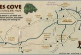 Map Of Gatlinburg Tennessee Cades Cove the Great Smoky Mountain National Park Love the