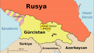 Map Of Georgia and Russia File Georgia Ossetia Russia and Abkhazia Tr Svg Wikimedia Commons