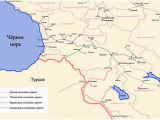 Map Of Georgia and Russia Transcaucasus Railway Wikipedia