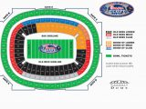 Map Of Georgia Dome Falcons Seating Chart Lovely Georgia Dome Seating Chart