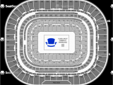 Map Of Georgia Dome Seating the Dome at America S Center Seating Chart Map Seatgeek