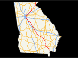 Map Of Georgia Interstates U S Route 23 In Georgia Wikipedia