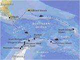 Map Of Georgia islands Vent Birding tours Antarctica south Georgia the Falklands Our