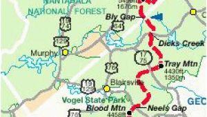 Map Of Georgia Mountains 14 Best Appalachian Trail Georgia Images Hiking Trails