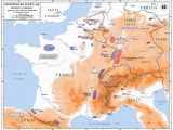 Map Of Germany France and Switzerland Minor Campaigns Of 1815 Wikipedia