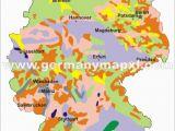 Map Of Germany In Europe German Land Use Map German Genealogy Map Treasure Maps
