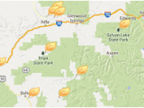 Map Of Glenwood Springs Colorado Colorado Parks Wildlife Contact Us