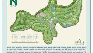Map Of Golf Courses In Ireland Hoover Country Club Course Map Hcc Golf Our Beautiful
