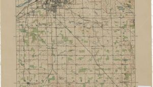 Map Of Grand Blanc Michigan Vintage Grand Rapids Map Vintage Michigan Grand Rapids Map Map