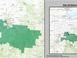 Map Of Grandview Ohio Ohio S 15th Congressional District Wikipedia