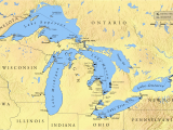 Map Of Great Lakes Canada List Of Shipwrecks In the Great Lakes Wikipedia