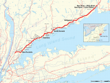 Map Of Hell Michigan New Haven Line Wikiwand
