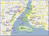 Map Of Hotels Niagara Falls Canada Map Of Niagara Falls Canada Hotels and attractions Maps