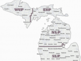 Map Of Houghton Lake Michigan Dnr Snowmobile Maps In List format
