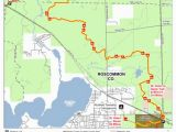 Map Of Houghton Lake Michigan St Helen to Geels Trail Mccct Cycle Conservation Club Of