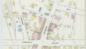 Map Of Huron Ohio Sanborn Maps 1889 Ohio Library Of Congress