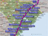 Map Of I 95 In north Carolina Cross south Carolina Photos Maps News Traveltempters