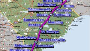 Map Of I 95 north Carolina Cross south Carolina Photos Maps News Traveltempters