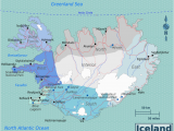 Map Of Iceland and Europe Iceland Wikitravel