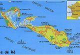 Map Of Ile De Re France France S Western isles Ile De Re France Zone at Abelard org