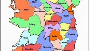 Map Of Ireland 32 Counties Map Of Ireland Ireland Map Showing All 32 Counties Ireland Of
