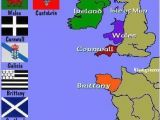 Map Of Ireland and Europe Map Of the Celtic Nations Of Europe Maps Celtic Nations Celtic
